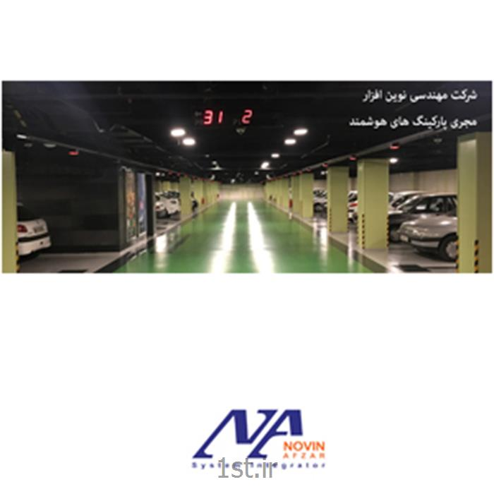 سامانه مدیریت و هدایتگر پارکینگ هوشمند نوین