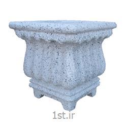 گلدان مربع فایبر گلاس مدل همانتوس C  کد F254