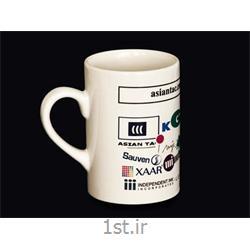 عکس ماگ (لیوان دسته دار بزرگ)لیوان سرامیکی معمولی تبلیغاتی