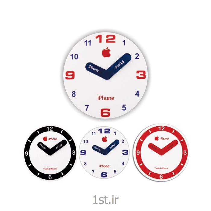 عکس ساعت دیواریساعت دیواری تبلیغاتی دایره ای آنالوگ مدل 5162