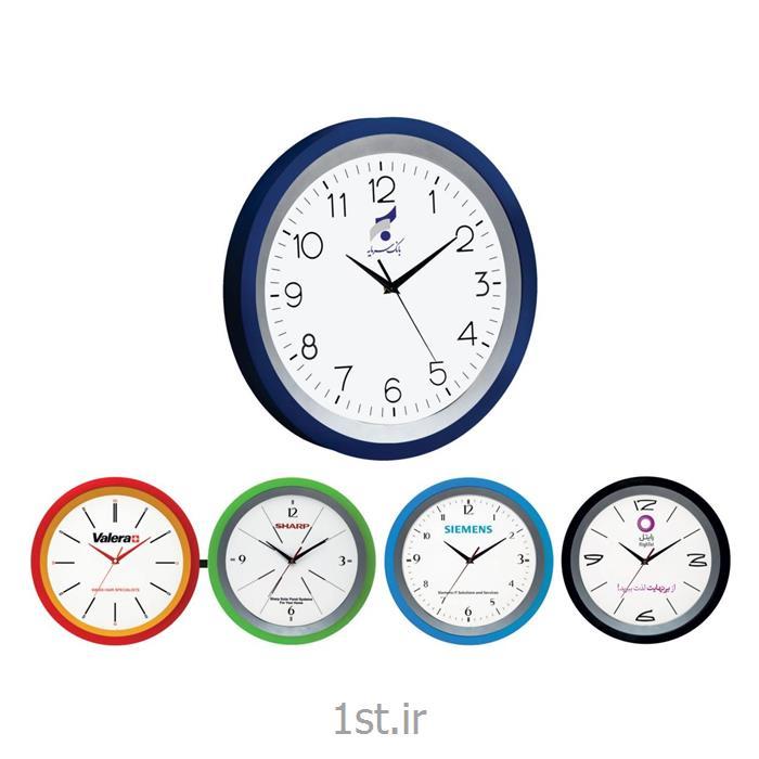 عکس ساعت دیواریساعت دیواری تبلیغاتی دایره ای آنالوگ مدل 5167