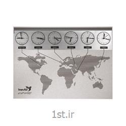 ساعت دیواری آنالوگ (عقربه ای) تبلیغاتی 5132 جهان نما