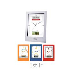 ساعت دیواری تبلیغاتی 5156چهارگوش پلاستیکی با قابلیت چاپ روی قاب