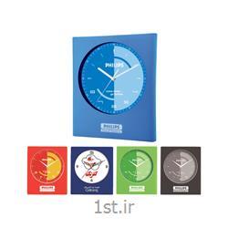 ساعت دیواری تبلیغاتی 5130 پلاستیکی با قابلیت چاپ روی قاب