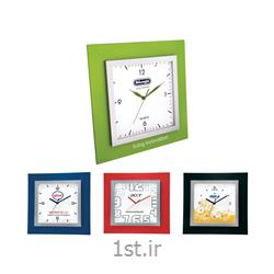 ساعت دیواری چهارگوش تبلیغاتی آنالوگ مدل 5161 پلاستیکی