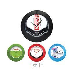 ساعت دیواری تبلیغاتی دایره ای5125 پلاستیکی