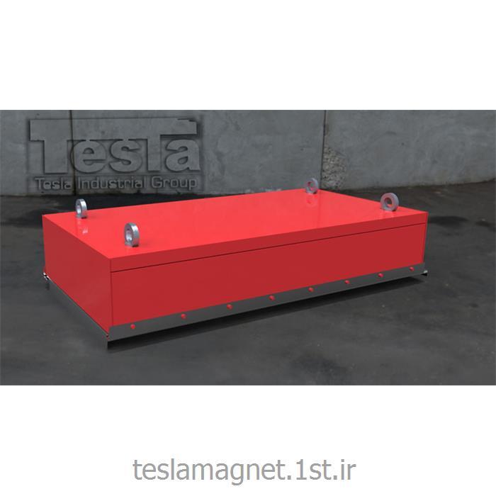 عکس دستگاه جداساز مواد معدنیسپراتور اور باند دائم دستی (بلاک مگنت) مدل TSM 900-15
