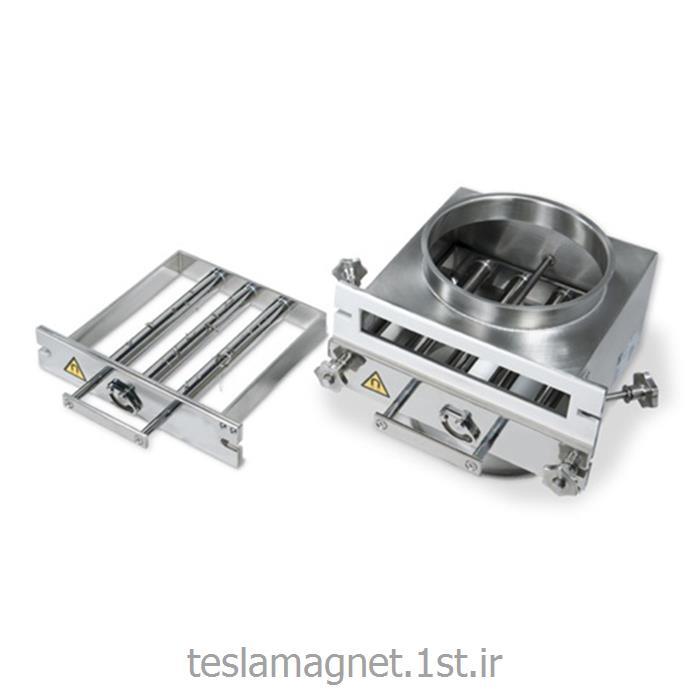 عکس دستگاه جداساز مواد معدنیجعبه مغناطیسی پنجره ای مدل TBM 12