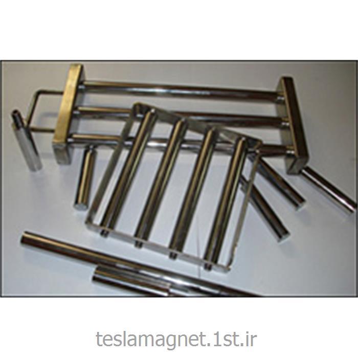 عکس دستگاه جداساز مواد معدنیمیله مغناطیسی استیل سری TBM