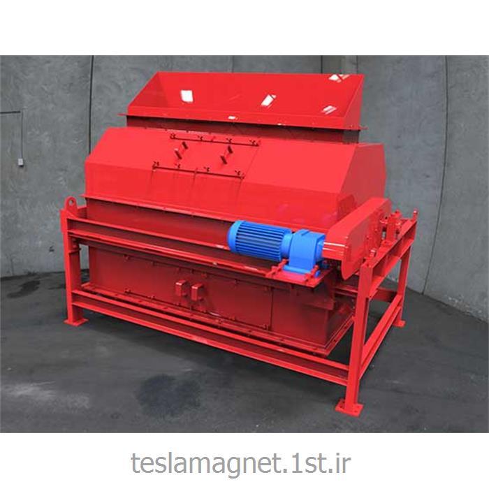 عکس دستگاه جداساز مواد معدنیدرام مگنت خشک مدل TDM 90-150