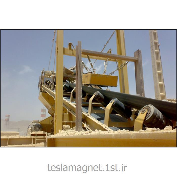 عکس دستگاه جداساز مواد معدنیسپراتور اور باند دائم دستی (بلاک مگنت) مدل TSM 600-13