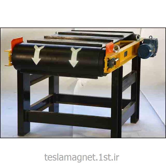 عکس دستگاه جداساز مواد معدنیجدا کننده مغناطیسی دائم خود تمیزکن مدل 35-TSM-PA 1000