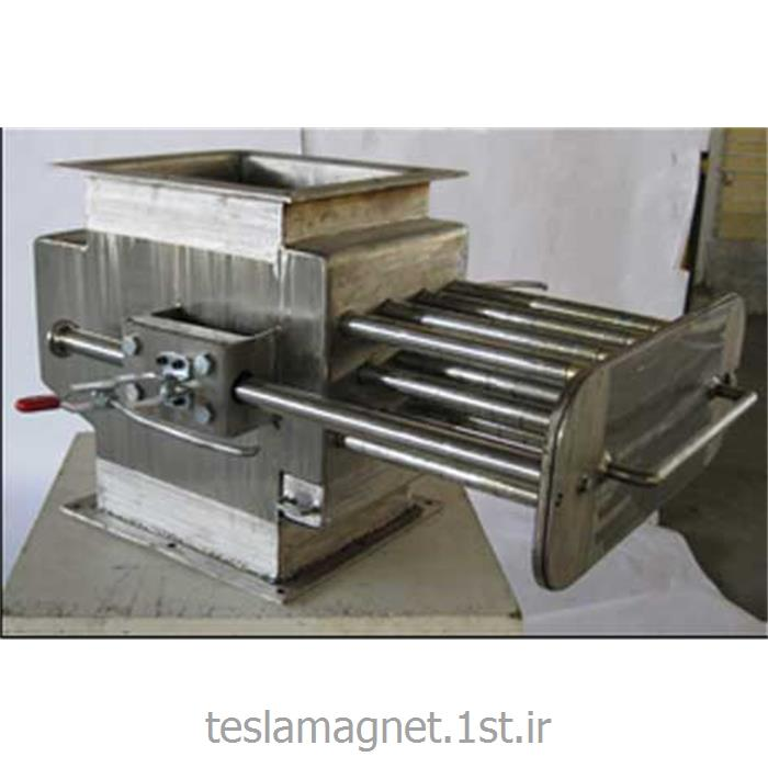 عکس دستگاه جداساز مواد معدنیپنجره مغناطیسی دائم نئودیم