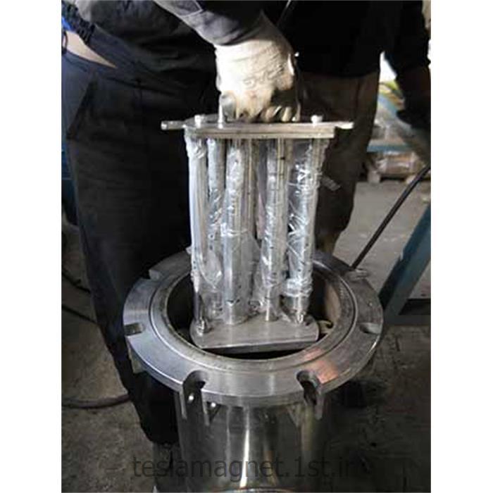 عکس دستگاه جداساز مواد معدنیترپ (تله) مغناطیسی دائم سری TMT