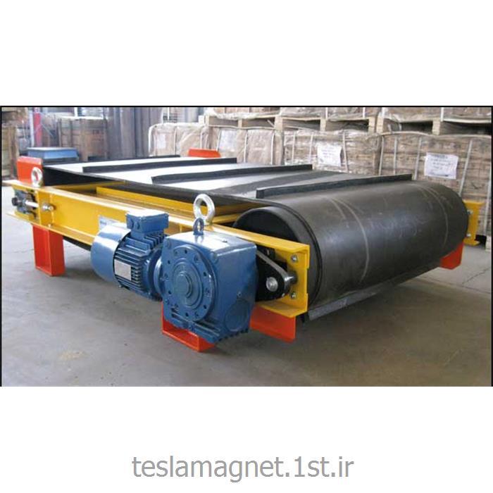 عکس دستگاه جداساز مواد معدنیجدا کننده مغناطیسی دائم خود تمیزکن مدل 30-TSM-PA 1000