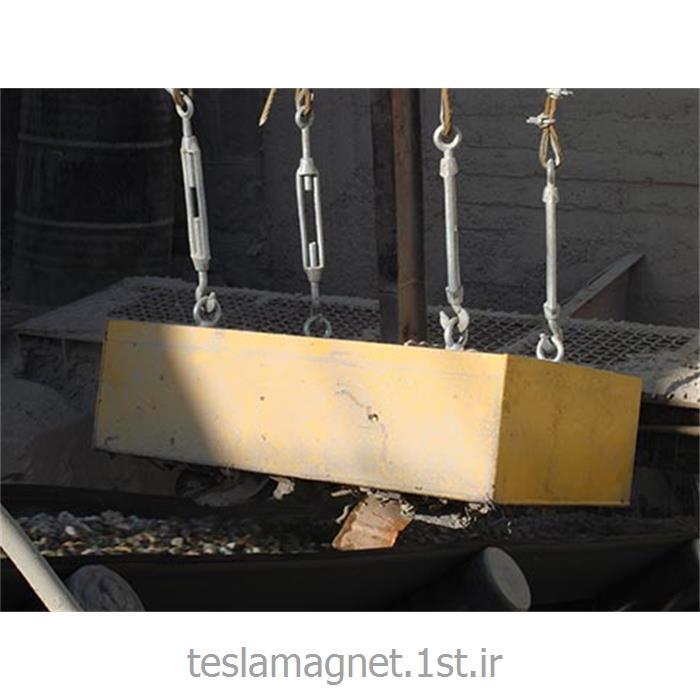 عکس دستگاه جداساز مواد معدنیسپراتور اور باند دائم دستی (بلاک مگنت) مدل TSM 700-25A