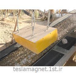 عکس دستگاه جداساز مواد معدنیسپراتور اور باند دائم دستی (بلاک مگنت) مدل TSM 600-25A
