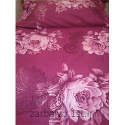 عکس پارچه کتان - پلی استرملحفه گلدار 2.5 عرض
