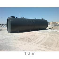 عکس لوله های پلاستیکیسپتیک پلی اتیلن چربی گیر  Septic Tank