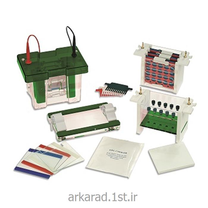 عکس سایر لوازم آزمایشگاهیسیستم الکتروفورز مولتی کمپانی Consort bvba بلژیک مدل EVS1X00-Multi