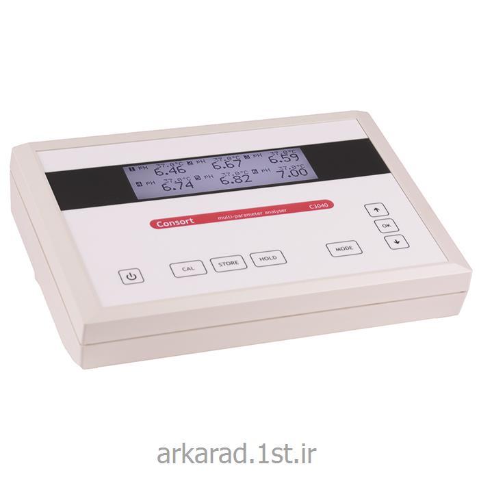 عکس سایر ابزار آلات اندازه گیری و سنجشمولتی پارامتر کمپانی consort بلژیک مدل C3040