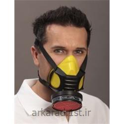 عکس مواد مصرفی پزشکیماسک نیمه صورت با فیلتر تنفسی مدل Mandil FFP3/combi/V
