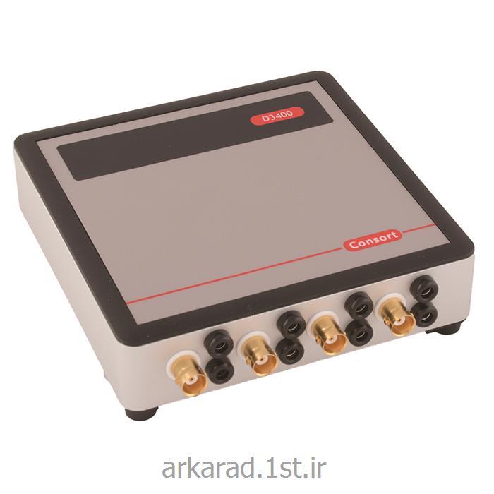 عکس سایر ابزار آلات اندازه گیری و سنجشمولتی پارامتر datalogger کمپانی Consort bvba بلژیک مدل D3400