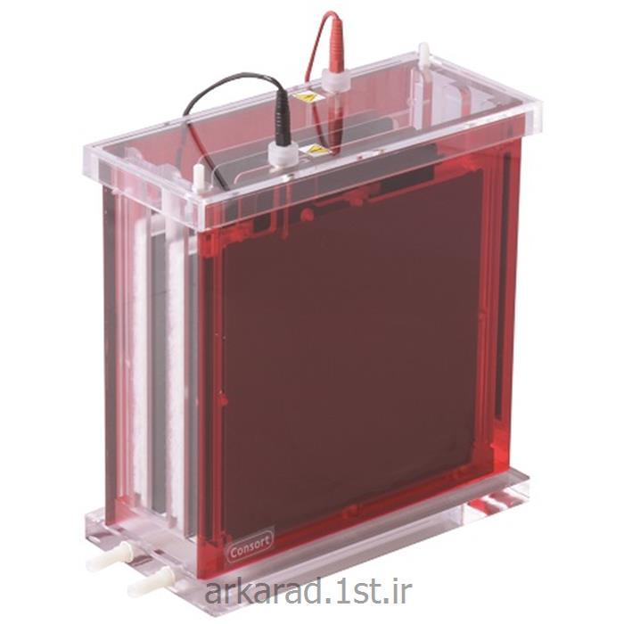 عکس سایر لوازم آزمایشگاهیتانک الکتروفورز بلاتینگ کمپانی Consort bvba بلژیک مدل EVS3300-Blot
