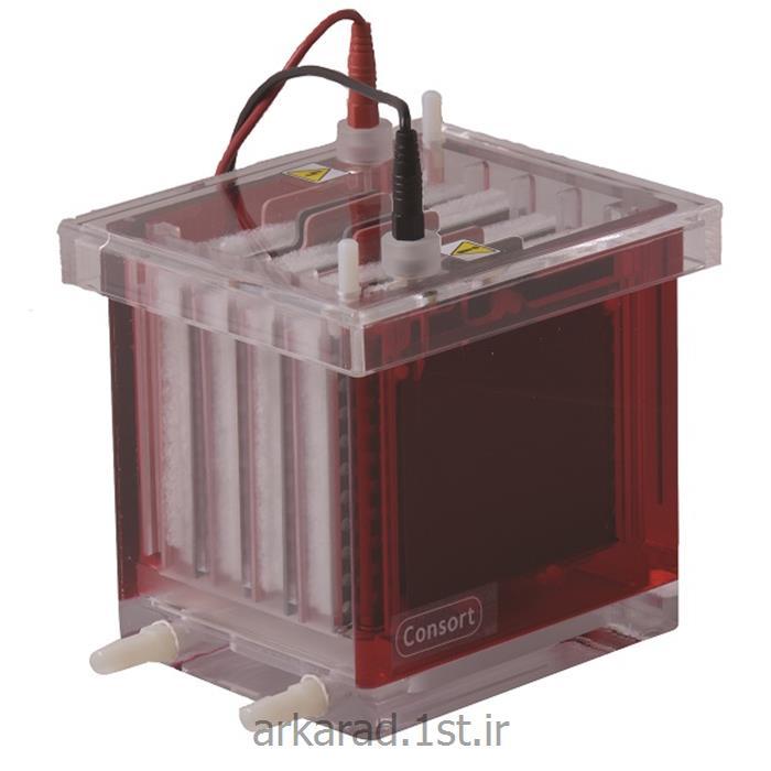 عکس سایر لوازم آزمایشگاهیتانک الکتروفورز بلاتینگ کمپانی  Consort bvbaبلژیک مدل EVS3100-Blot