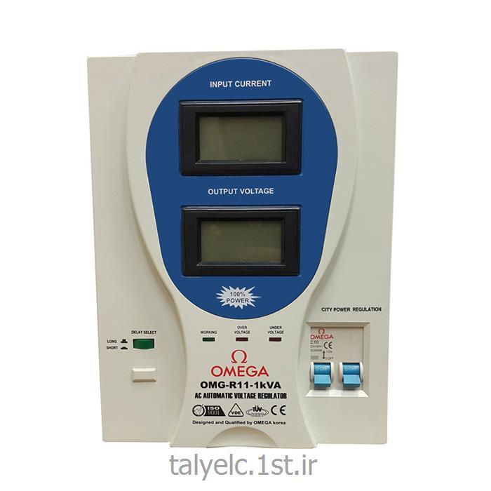 عکس ترانس روشناییترانس اتوماتیک تک فاز 1 کاوا امگا Trans automatic-R11-1Kva Omega