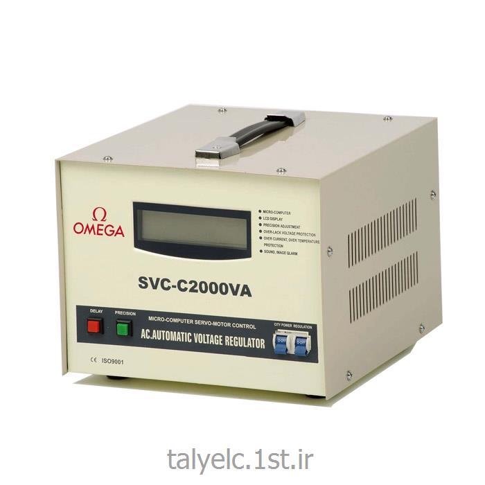 عکس ترانسفورماتور هااستابلایزر تک فاز 2 کاوا امگا Stablizer V11-2Kva Omega
