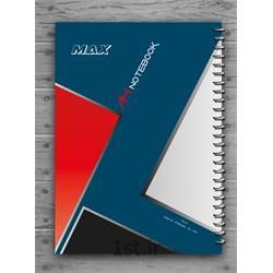 دفتر ۱۰۰ برگ سیمی جلد لمینتی A4  مکث نوت کد9171