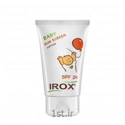 عکس کرم ضد آفتابلوسیون ضد آفتاب کودک ایروکس حجم 135 میلی لیتر