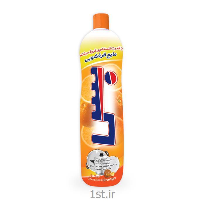 مایع ظرفشویی اسلیو بس رایحه پرتقال حجم 1000 میلی لیتر