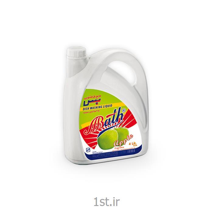 مایع ظرفشویی بس  رایحه سیب وزن 4 لیتری