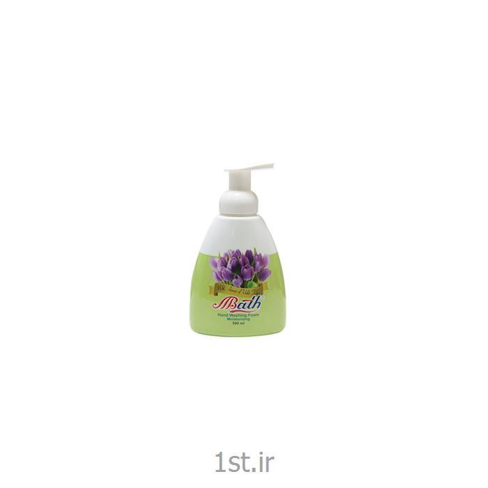 مایع دستشویی فوم گل های بهاری بس حجم 500 میلی لیتر