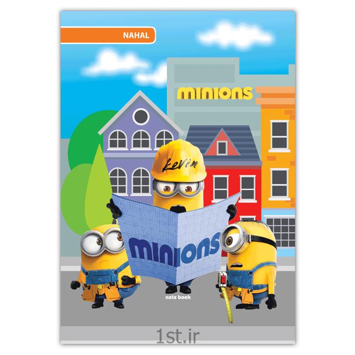 دفتر ۴۰ برگ سیمی کارتونی مکث نوت کد 3411