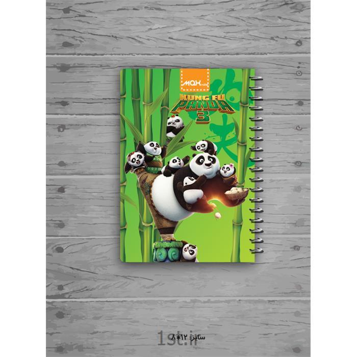 یادداشت ۶۰ برگ ۸*۱۲ سیمی جلد لمینتی کارتونی (استندی) مکث نوت کد 9326