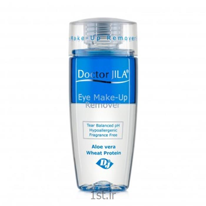 لوسیون دوفاز پاک کننده آرایش دورچشم دکترژیلا حجم 125 میلی لیتر