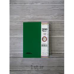 یادداشت ۲۰۰ برگ ۱۲*۱۷ سیمی pp مکث نوت کد 9336