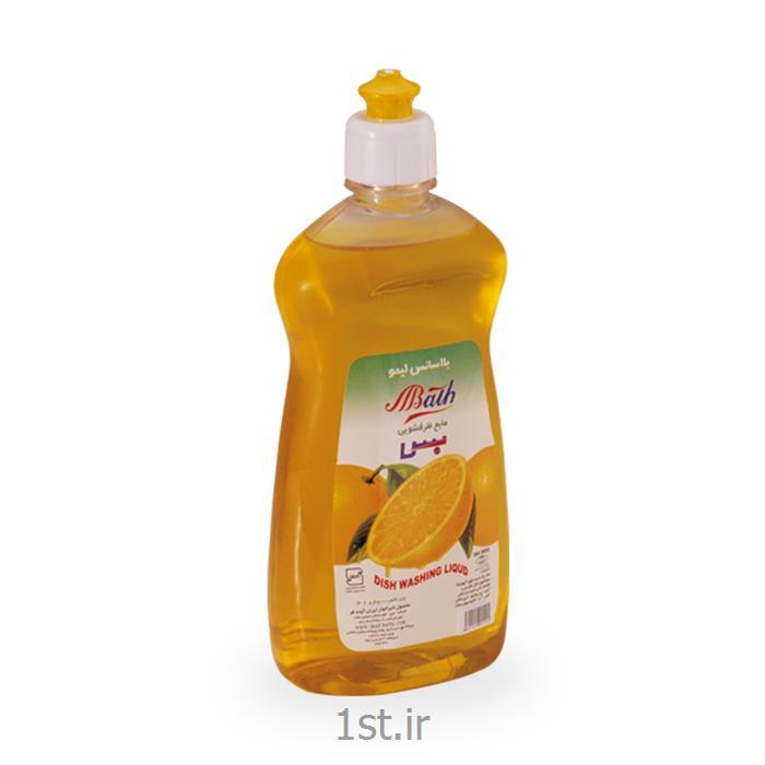 مایع ظرفشویی پت بس رایحه لیمو حجم 500 میلی لیتر