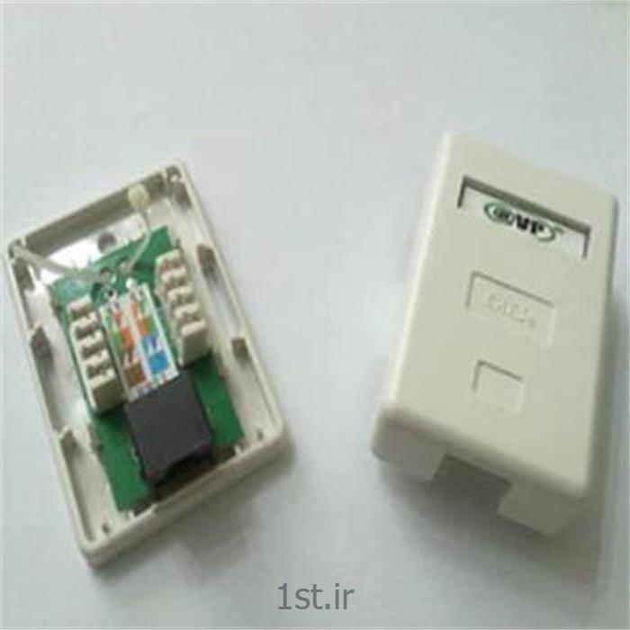 عکس سایر سخت افزارهای شبکهکیستون جک باکس AVP Cat5e