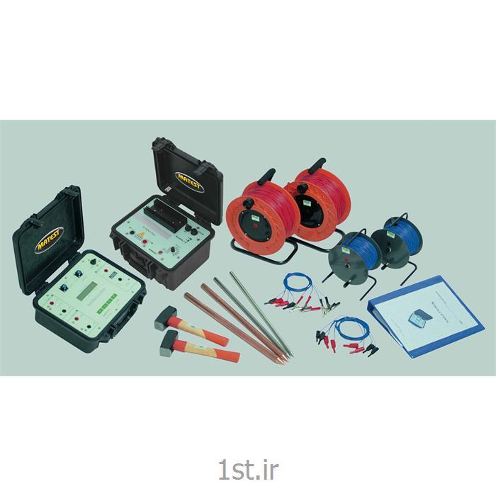دستگاه تعیین مقاومت الکتریکی خاک