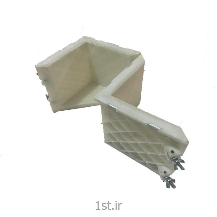 قالب پلاستیکی بتن 15 در 15 دو تکه از شرکت کیمیاگران جوانقالب پلاستیکی بتن 15 در 15 دو تکه