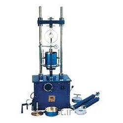 دستگاه سه محوری خاک CD CU UU