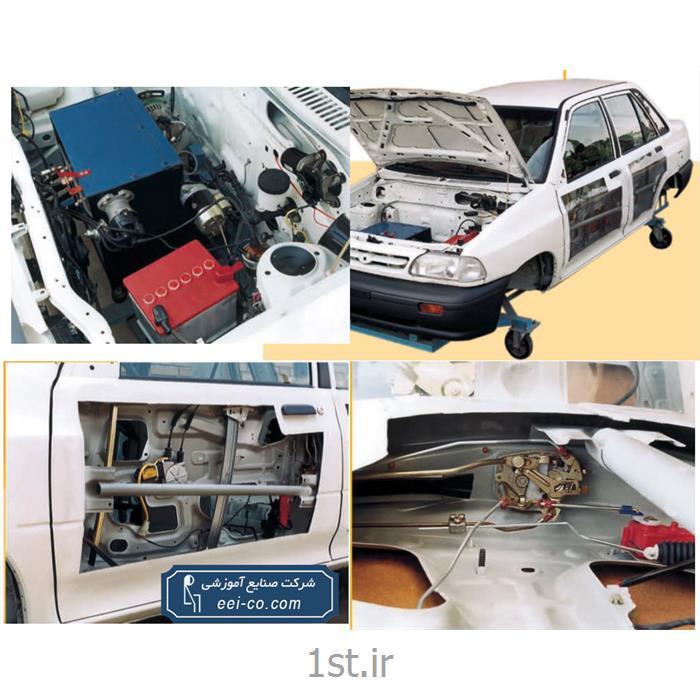 عکس تجهیزات آموزشیمجموعه آموزش مدل سوخت رسان وجرقه پراید