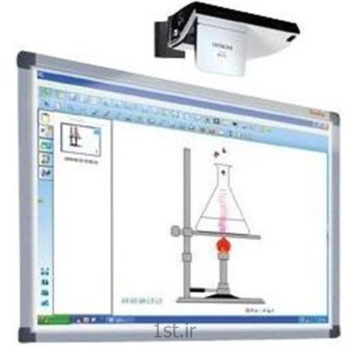 عکس تجهیزات آموزشیبرد هوشمند الکترو مغنناطیسی تمام لمسی صنایع آموزشی مدل 3s-4700 IR