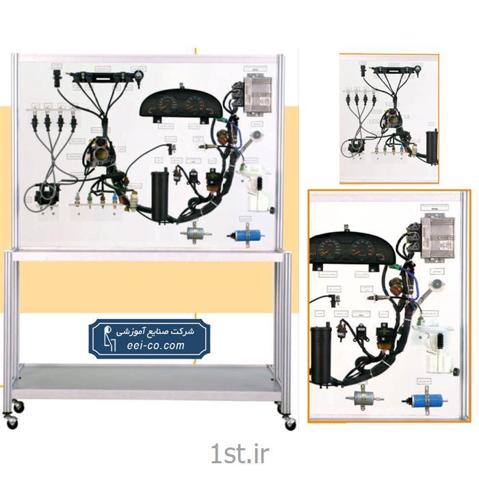 عکس تجهیزات آموزشیمجموعه آموزش مدل سوخت رسان وجرقه سمند