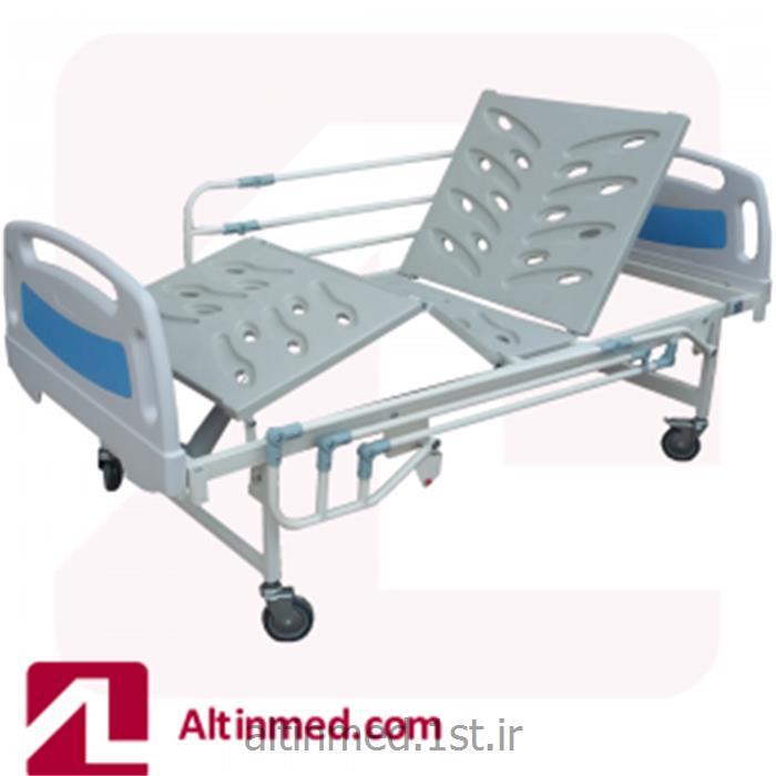 تخت بستری سه شکن برقی بیمارستانی