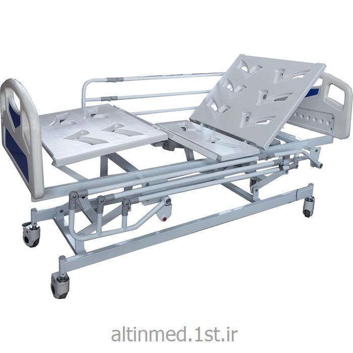 تخت بستری سه شکن برقی با رویه ABS